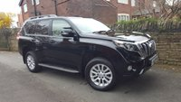 2014 TOYOTA LAND CRUISER 3.0 D-4D ICON 5d AUTO 188 BHP £26500.00