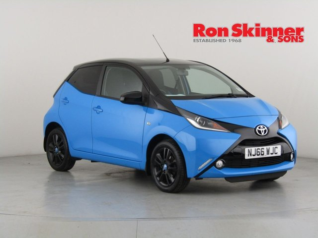 View our 2016 66 TOYOTA AYGO 1.0 VVT-I X-CITE 2 5d 69 BHP