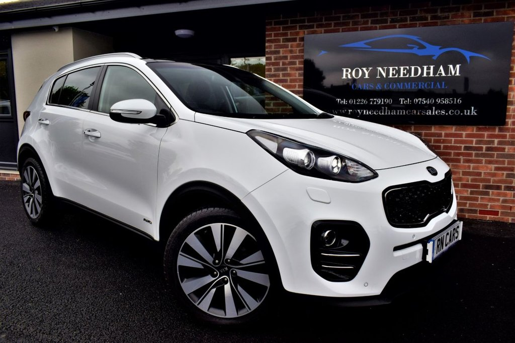 USED 2016 16 KIA SPORTAGE 2.0 CRDI KX-4 5DR 182 BHP *** HUGE SPEC - KIA WARRANTY UNTIL 2023 ***