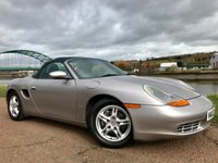 USED 2002 02 PORSCHE BOXSTER 2.7 24V 2d 217 BHP **UPGRADED DAB RADIO**
