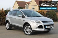 USED 2013 13 FORD KUGA 2.0 TITANIUM X TDCI 5d AUTO 160 BHP PAN ROOF BLACK HEATED LEATHER