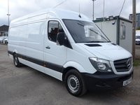 USED 2017 67 MERCEDES-BENZ SPRINTER 314 CDI LWB, 140 BHP [EURO 6]
