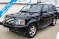 USED 2005 55 LAND ROVER RANGE ROVER SPORT 2.7 TDV6 SE 5d 188 BHP JUST 1 PREVIOUS OWNER! GREAT SERVICE HISTORY! SAT NAV!