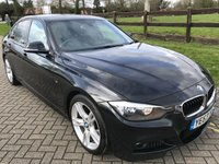 2013 BMW 3 SERIES 2.0 318D M SPORT 4d AUTO 141 BHP £10400.00