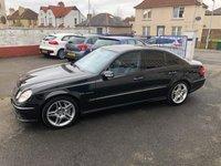 2003 MERCEDES-BENZ E-CLASS 5.4 E55 AMG 4d 476 BHP £9690.00