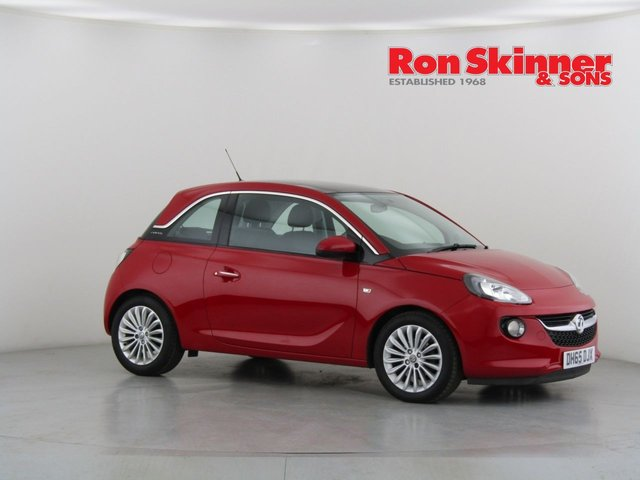 View our 2016 65 VAUXHALL ADAM 1.2 GLAM 3d 69 BHP