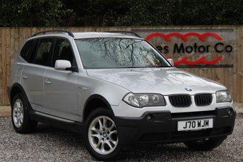 2004 BMW X3 2.0 D SE 5d 148 BHP £2895.00