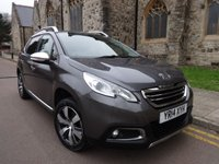 USED 2014 14 PEUGEOT 2008 1.6 E-HDI ALLURE 5d 92 BHP + BLUETOOTH + POWER FOLD MIRRORS +