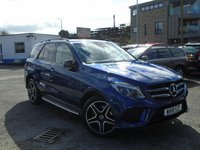 2018 MERCEDES-BENZ GLE-CLASS 2.1 GLE 250 D 4MATIC AMG NIGHT EDITION 5d AUTO 201 BHP £35995.00