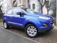 USED 2015 65 FORD ECOSPORT 1.5 ZETEC TDCI 5d 94 BHP ****FINANCE ARRANGED****PART EXCHANGE WELCOME***£30 TAX*REAR PARKING SENSORS*BLUETOOTH*VOICE CONTROL*SH*A/C*AUX