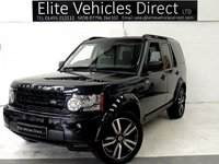 2011 LAND ROVER DISCOVERY 3.0 4 SDV6 LANDMARK LE 5d AUTO 245 BHP £16991.00