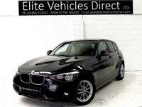 2014 BMW 1 SERIES 1.6 116D EFFICIENTDYNAMICS BUSINESS 5d 114 BHP £10991.00