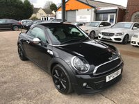 2012 MINI COUPE 1.6 COOPER S 2d 181 BHP £6990.00