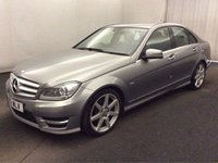 2012 MERCEDES-BENZ C CLASS 2.1 C200 CDI BLUEEFFICIENCY SPORT 4d 135 BHP £10000.00