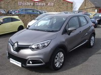USED 2014 14 RENAULT CAPTUR 0.9 EXPRESSIONPLUS CONVENIENCE ENERGYTCE S/S 5d 90 BHP ROAD TAX ONLY £30 A YEAR
