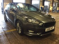 2016 FORD FOCUS 1.5 ST-LINE TDCI 5d 118 BHP £11965.00