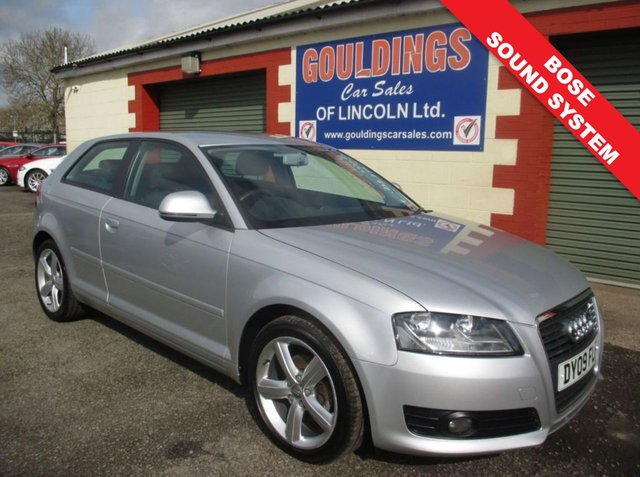 USED 2009 09 AUDI A3 2.0 TDI 3d 138 BHP FULL SERVICE HISTORY INC CAMBELT - SEE IMAGES
