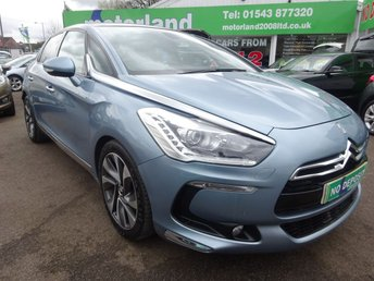 2012 CITROEN DS5 2.0 HDI DSPORT 5d 161 BHP £7500.00