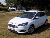 USED 2015 65 FORD FOCUS 1.0 TITANIUM 5d 100 BHP