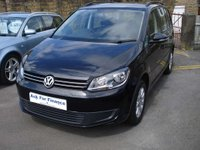 USED 2011 11 VOLKSWAGEN TOURAN 1.2 S TSI 5d 106 BHP LOW MILEAGE SEVEN SEATER