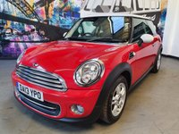 2013 MINI HATCH COOPER 1.6 COOPER 3d 122 BHP £6620.00