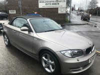 2008 BMW 1 SERIES 2.0 120D SE 2d 175 BHP £6995.00