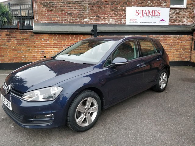 2015 15 VOLKSWAGEN GOLF 1.4 MATCH TSI BLUEMOTION TECHNOLOGY 5d 120 BHP