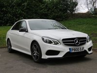 USED 2015 MERCEDES-BENZ E-CLASS 2.1 E220 BLUETEC AMG NIGHT EDITION 4d AUTO 174 BHP AMG NIGHT EDITION! SAT NAV & MORE!