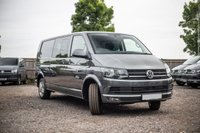 USED 2018 68 VOLKSWAGEN TRANSPORTER T32 TDI KOMBI HIGHLINE LWB DSG (AUTO) GEARBOX 150 BLUEMOTION EURO 6 £4000 WORTH OF EXTRAS!