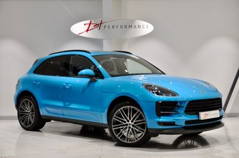2018 PORSCHE MACAN 2.0 PDK 5d AUTO 242 BHP MIAMI BLUE BIG SPECIFICATION £58950.00