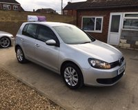 USED 2011 11 VOLKSWAGEN GOLF MATCH TDI MOT 15th January 2020... 2 Owners (last since 2104).... Sytner VW Dealershippart exchange.... Full Service History.... DAB Stereo... Bluetooth... Cruise Control.... £30 Road Tax..... Warranty with Recovery Included