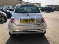 USED 2011 61 FIAT 500 1.2 LOUNGE 3d 69 BHP