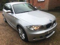 2007 BMW 1 SERIES 2.0 120D M SPORT 3d AUTO 175 BHP £5495.00
