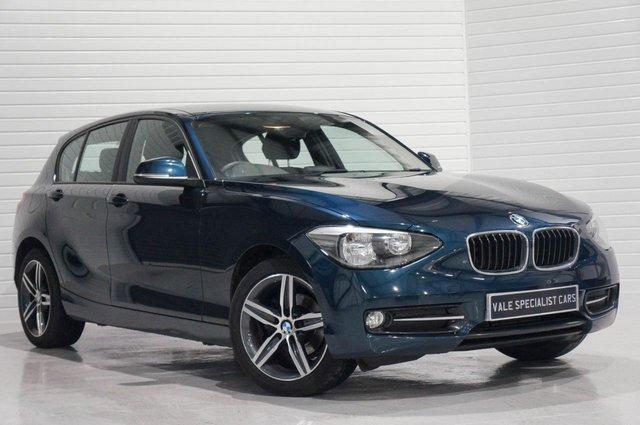 2015 15 BMW 1 SERIES 2.0 118D SPORT 5d AUTO (SAT NAV)