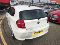 USED 2010 10 BMW 1 SERIES 2.0 118D SPORT 3d 141 BHP