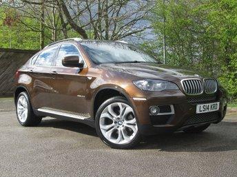 2014 BMW X6 3.0 XDRIVE40D 4d AUTO 302 BHP £20995.00