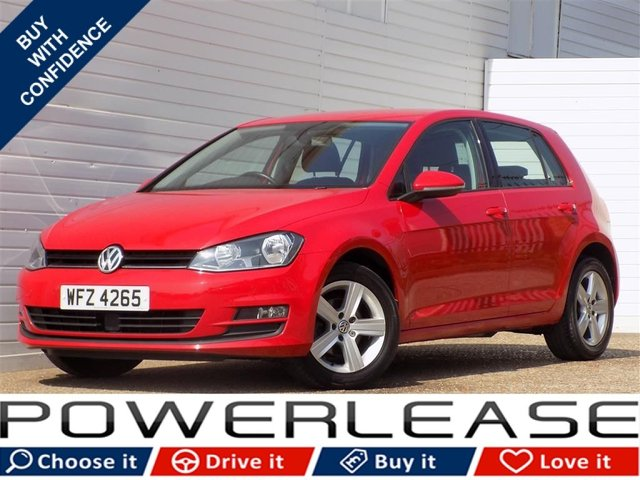 USED 2015 64 VOLKSWAGEN GOLF 1.6 MATCH TDI BLUEMOTION TECHNOLOGY DSG 5d AUTO 103 BHP 20 POUND TAX FVWSH 1 OWNER