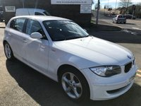USED 2009 09 BMW 1 SERIES 2.0 116D SPORT 5d 114 BHP