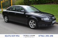 USED 2002 02 AUDI A4 1.9 TDI SPORT 4d 99 BHP PART EXCHANGE TO CLEAR