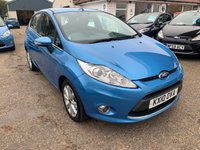 USED 2010 10 FORD FIESTA 1.4 ZETEC TDCI 5d 68 BHP FULL SERVICE HISTORY X 8 STAMPS