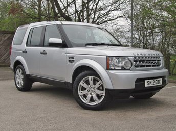 2012 LAND ROVER DISCOVERY 3.0 4 SDV6 GS 5d AUTO 255 BHP £12990.00