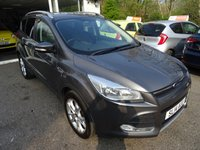 USED 2014 14 FORD KUGA 2.0 ZETEC TDCI 5d 138 BHP Serviced by ourselves, One Owner, MOT until April 2020, 6 Speed Gearbox