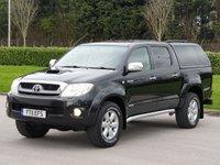2011 TOYOTA HI-LUX 3.0 INVINCIBLE 4X4 D-4D DCB 1d AUTO 169 BHP £13450.00