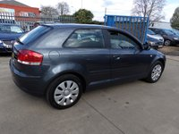 USED 2005 54 AUDI A3 2.0 TDI 3d 138 BHP NEW MOT, SERVICE & WARRANTY