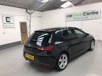 USED 2014 64 SEAT LEON 2.0 TDI FR TECHNOLOGY 5d 150 BHP