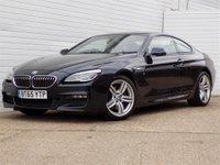 2015 BMW 6 SERIES 3.0 640D M SPORT INDIVIDUAL 2d AUTO 309 BHP £20989.00