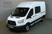 USED 2014 64 FORD TRANSIT 2.2 350 124 BHP LWB H/ROOF L3 H3 9 SEATER COMBI CREW VAN ONE OWNER FULL S/H SPARE KEY