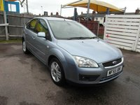 USED 2005 55 FORD FOCUS 1.6 Auto Ghia 5 door Petrol Automatic