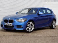 2015 BMW 1 SERIES 2.0 118D M SPORT 3d 141 BHP £9489.00