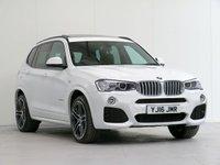 2016 BMW X3 3.0 xDrive30d M Sport PLUS Auto 255 bhp [£7K OPTIONS] [M SPORT PLUS PACK] £26827.00